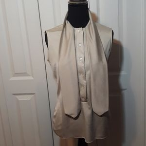 1060's Vintage Secretary Tie Blouse